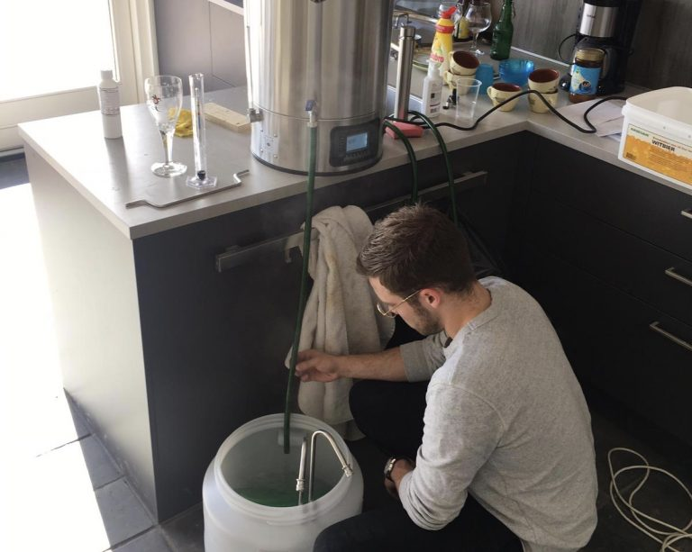 I also brew my own beer. This came out of my passion for drinks, and creating new experiences.